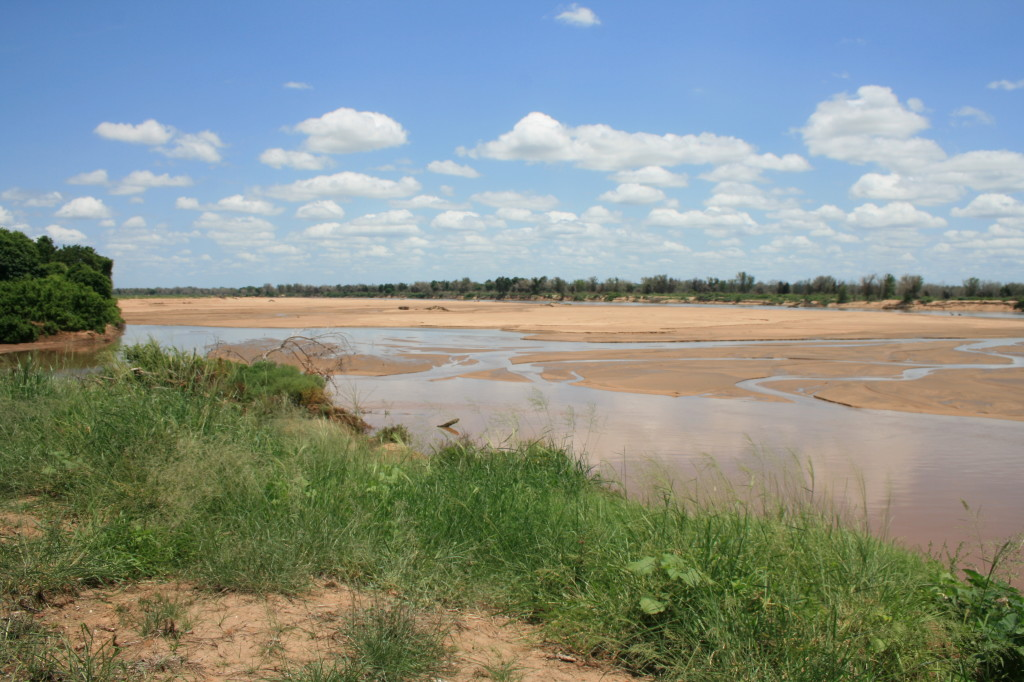 Crooks Corner - the confluence of the Luvuvhu and Limpopo Rivers