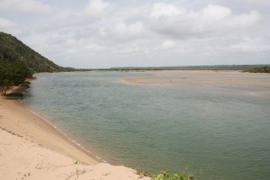 Kosi Bay estuary - the mouth