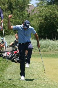 Charl Schwartzel when the going was still good